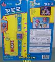 Dream Castle Pez Watch and Keychains