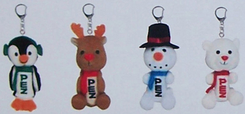 Winter Plush Pez set