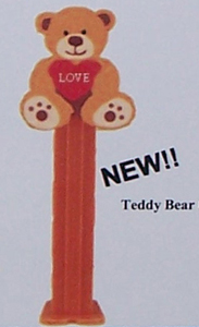Valentines Day Teddy Bear Pez