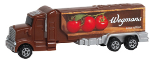 Wegmans Promotional Pez Hauler with Tomatoes