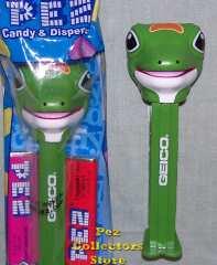 Geico Gecko Promotional Pez
