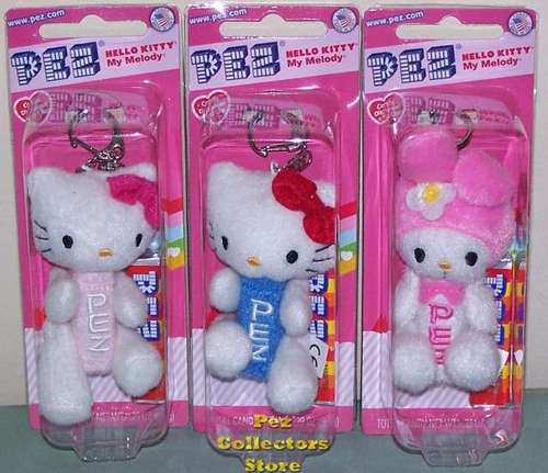 Hello Kitty Plush Pez