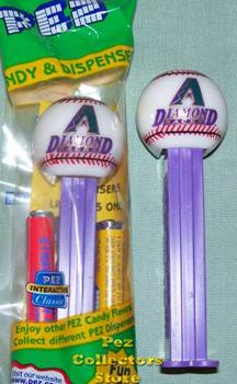 Arizona Diamondbacks Promotional Pez from 2002