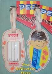 Pez Boy Luggage Tag