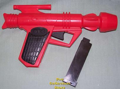 1980s Pez Space Gun