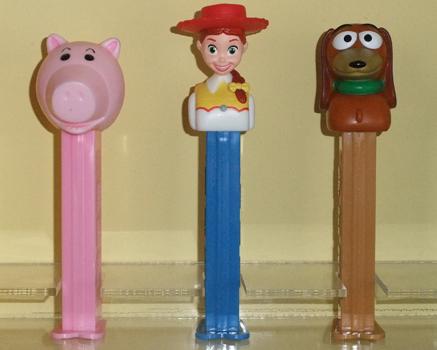 Hamm, Jessie and Slinky Dog Toy Story Pez