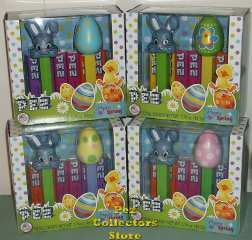 Happy Spring Boxed set with Green Ducky Easter Egg pez
