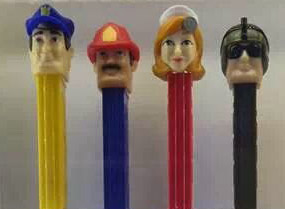 Pez Heroes Counter display box