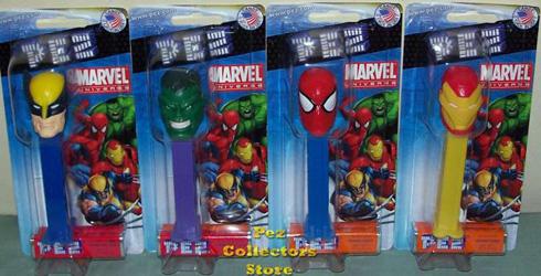 Marvel Universe SuperHero Pez
