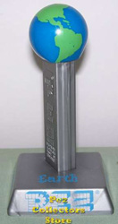 Planet Series Earth Pez with Stand
