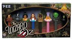 Wizard of Oz Pez Gift set
