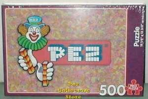 500 piece Pez Puzzle