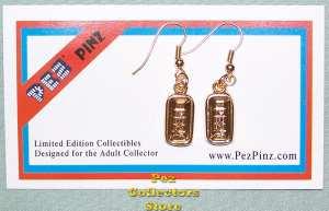 Pez Candy Bricks Earrings