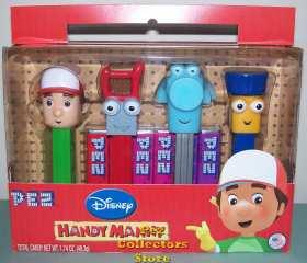 Handy Manny Pez Gift Set
