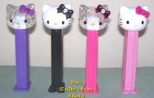 Hello Kitty Skulls Pez