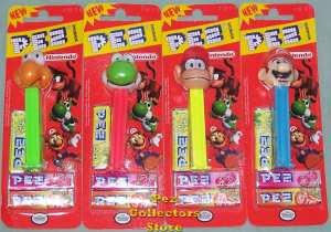 Mario Brothers Nintendo Pez
