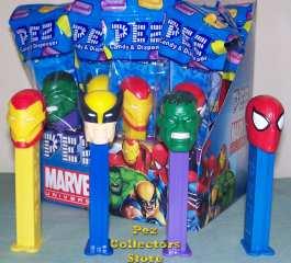 Marvel Superhero Pez