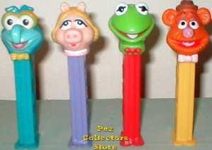 Muppets Pez set