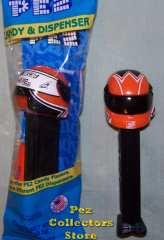 NASCAR Driver Helmet Pez