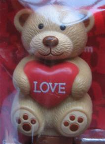 Valentines Day Teddy Bear Pez