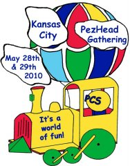 2010 KC PezHead Gathering Attendance Pin