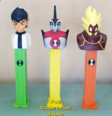 European Ben 10, Way Big and Heat Blast Pez Dispensers