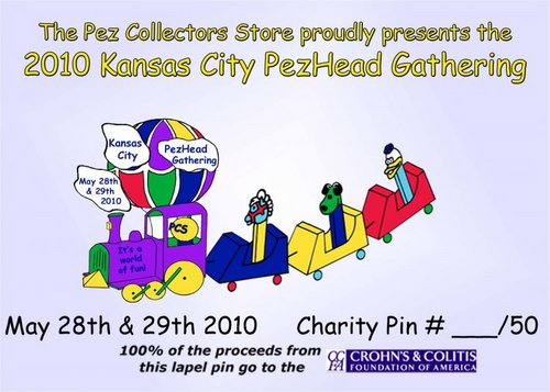 CCFA Charity Pin Card