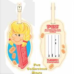 Pez Girl Luggage Tag