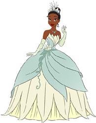 Princess Tiana Pez