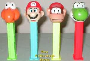 Nintendo Mario Bros Pez