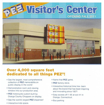 Pez Visitor's Center Promotional