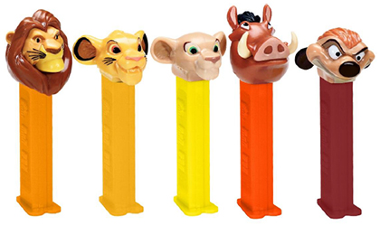 2019 Updated Lion King Pez