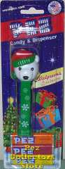 Polar Bear Pez Snowflake Stem exclusive