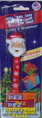 Snowflake Stem Santa Pez Exclusive