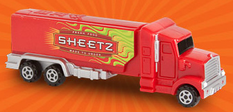 Sheetz Promotional Hauler Pez