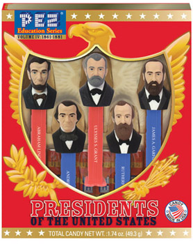 Presidents Pez Volume 5