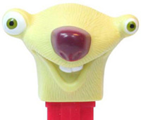 2013 Revised Tweety Pez (on right)