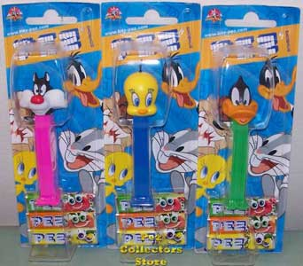 European Sylvester, Tweety and Daffy MOC