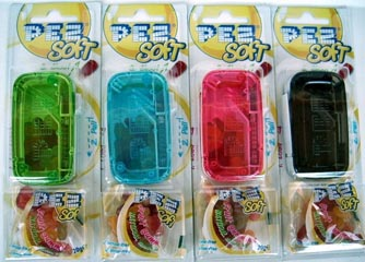 Pez Soft Shooters Set of 4