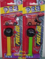 Detachable Pull & Go Disney Cars Pez