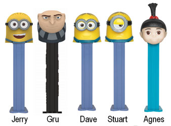 Despicable Me 3 Pez Assortment
