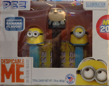 Despicable Me 3 Pez Tripack