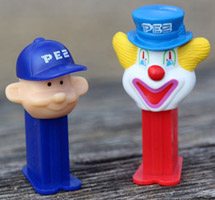 World's Smallest Pez Pal boy and Peter Pez