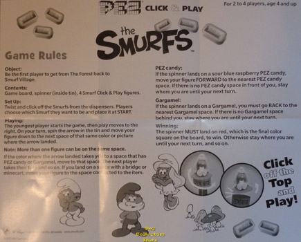 Smurfs Game Rules