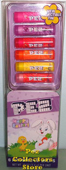Pez Flavor Lip Balm in Easter Tin