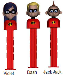 Incredibles 2 Pez Set