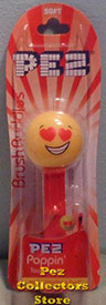 Love Emoji Brush Buddy Pez Toothbrush