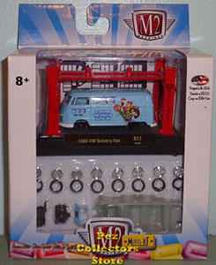 M2 Machines VW Pez Delivery Van Model Kit