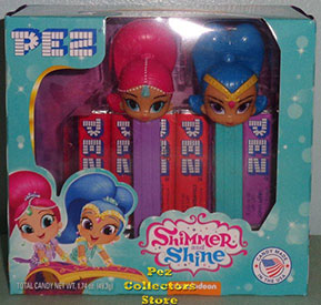 Shimmer and Shine Pez Twin Pack