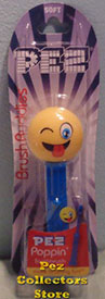 Silly Emoji Brush Buddy Pez Toothbrush